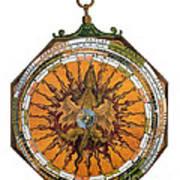 Astronomicum Caesareum With Dragon Art Print