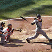 At Bat Art Print