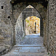 At The End Of The Passageway Art Print