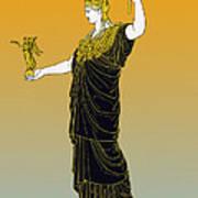 Athena, Greek Goddess Art Print