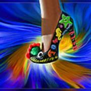 Athenna's Shoe Art Print