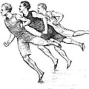 Athletics: Track, 1890 Art Print by Granger