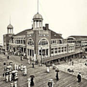 Atlantic City Steel Pier 1910 Art Print