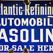Atlantic Refining Co Sign Art Print