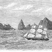 Atlantic: St. Pauls Rocks Art Print
