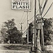 Atlantic White Flash Art Print