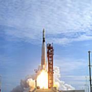 Atlas Agena Target Vehicle Liftoff Art Print