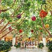 Atrium At The Wynn 2 Art Print