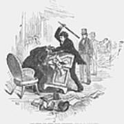 Attack On Sumner, 1856 Art Print by Granger