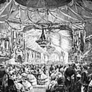 August Belmont (1816-1890) Art Print