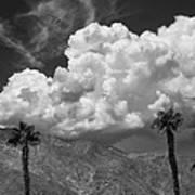 August Clouds Palm Springs Art Print