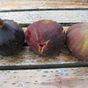 Figs On A Table  Art Print
