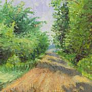 August Lane Art Print