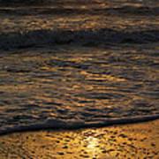 August Sunset Art Print