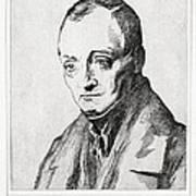 Auguste Comte, French Philosopher Art Print