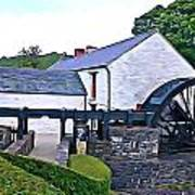 Auld Mill  Art Print