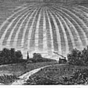 Aurora Borealis, 1837 Art Print