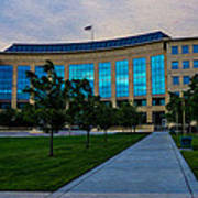 Aurora Municipal Center Hdr Art Print