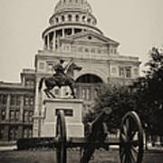 Austin Capitol Art Print by Lisa  Spencer
