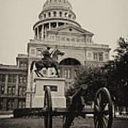 Austin Capitol Art Print