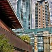 Austin Condo Towers - Hdr Art Print