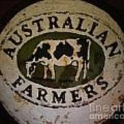Australian Farmers Art Print