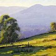 Australian Landscape Art Print