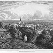 Austria: Baaden, 1822 Art Print