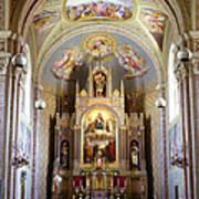 Austrian Church Interior Art Print