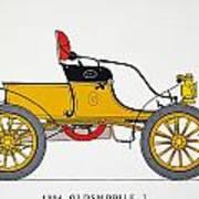 Auto: Oldsmobile, 1904 Art Print