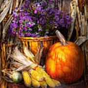 Autumn - Autumn Is Festive  Art Print