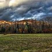 Autumn -- Foothills - Maine Art Print