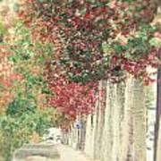 Autumn And Fall Art Print