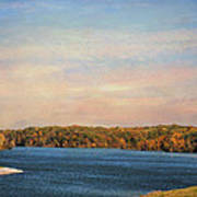 Autumn At Lake Graham Art Print