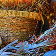 Autumn Basket Art Print