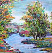 Autumn Brilliant Color Art Print