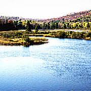Adirondack Lake 38  Art Print