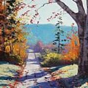 Autumn Delight Art Print by Graham Gercken
