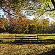 Autumn Field In Pennsylvania Art Print