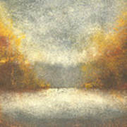 Autumn Fog Art Print
