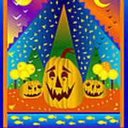 Autumn Greetings Art Print