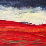 Autumn Hills 01 Art Print
