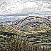 Autumn Hills Art Print