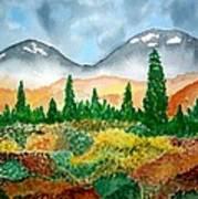 Autumn In Alaska Art Print