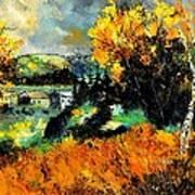 Autumn In Ardennes 672101 Art Print