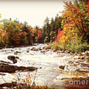 Autumn In New Hampshire Art Print