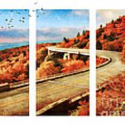 Autumn In North Carolina Art Print