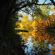 Autumn In Ohio Art Print