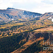 Autumn In Rocky Mountain National Park Art Print