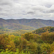 Autumn In Shenandoah National Park Art Print by Pierre Leclerc Photography